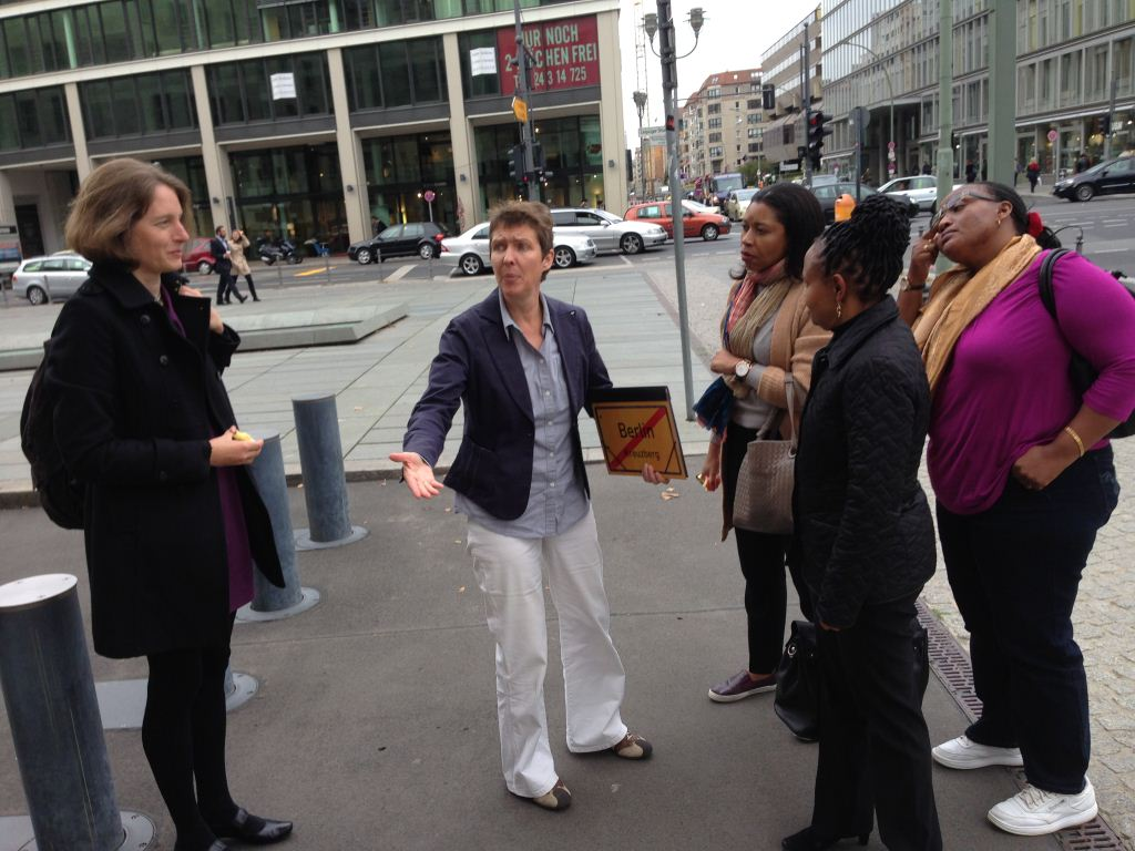 8.10.14 Sightseeing a with Susanne Bauer